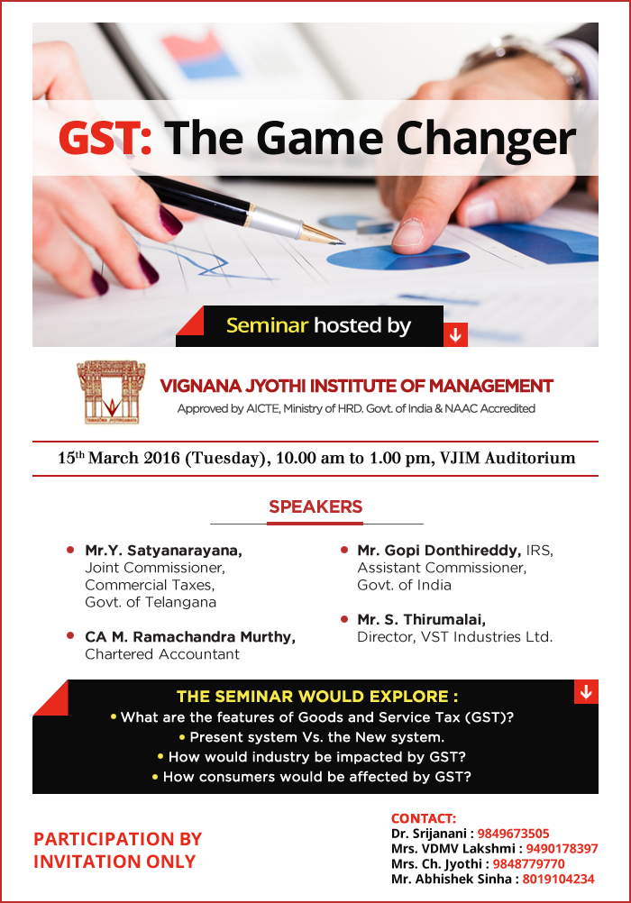 GST: The Game Changer